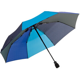 EuroSchirm Light Trek Automatic Umbrella blue/lightblue